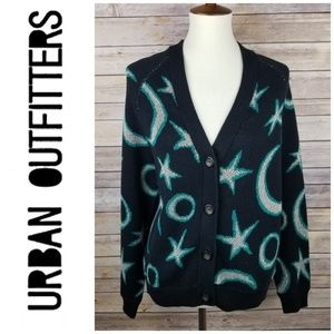 Urban Outfitters Ecote Star Cardigan